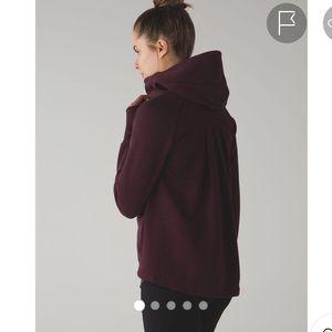 Lululemon Pleat To Street Hoodie Jacket Size 4
